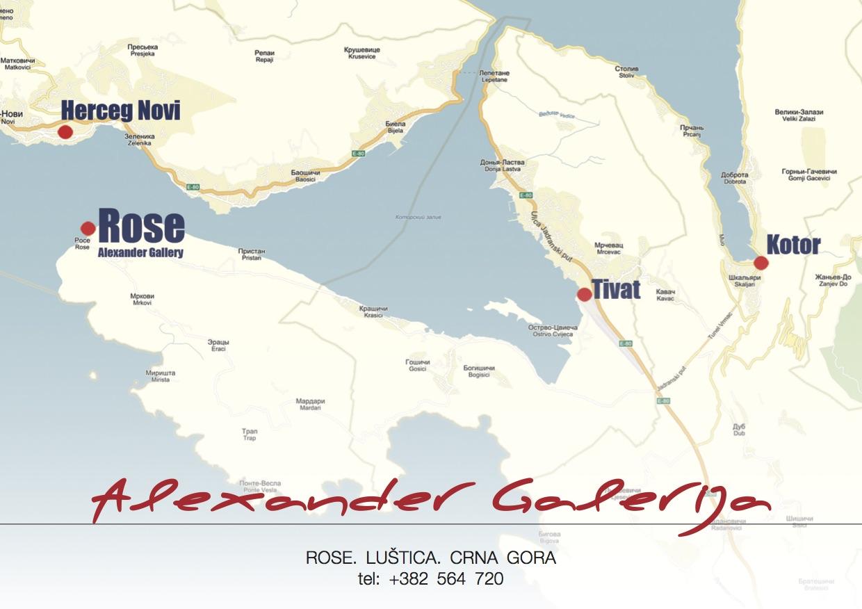 ALEXANDER GALLERY Map