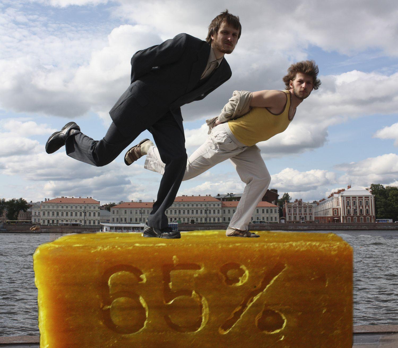 """Группа """"Мыло"""" - """"Фигурное катание на мыле"""", 2011"""