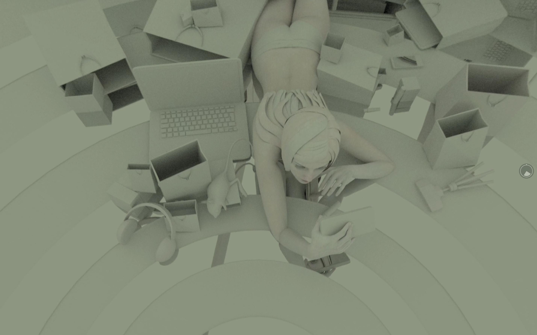 Sandrine Deumier (France), Falling