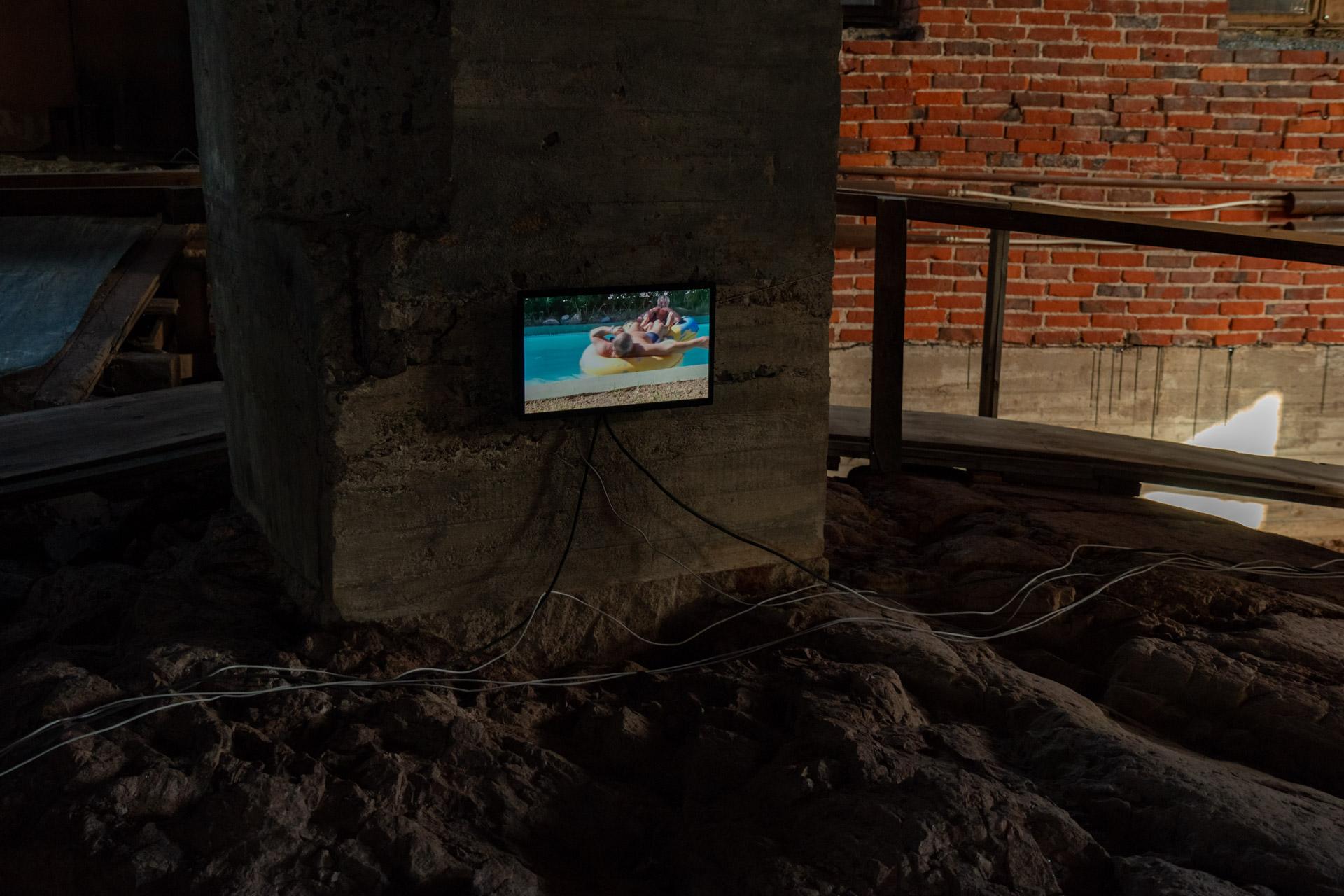 Жизнь как Жизнь. СТИКС, сайт-специфик инсталляция — Елена Губанова, Иван Говорков,2016