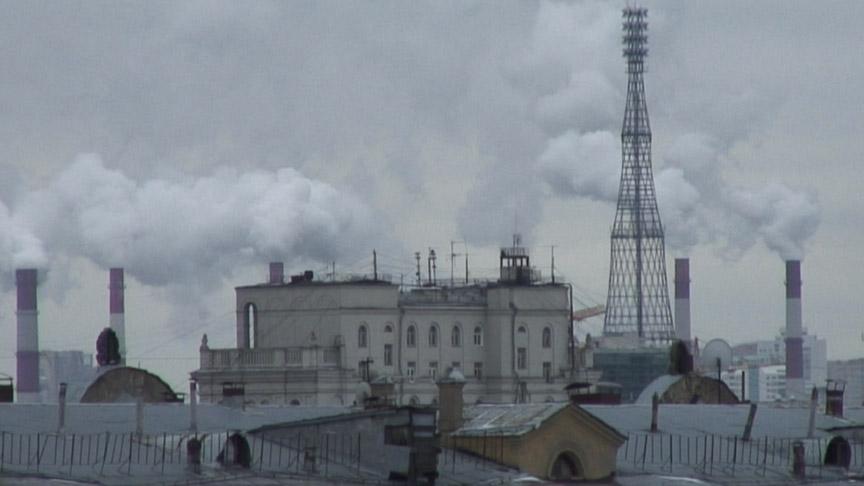 Portrait of the Shukhov Tower — Marina Fomenko, 2011